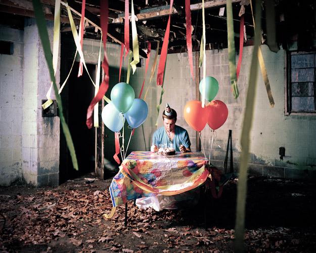 minha típica festa de aniversário em janeiro (fonte: Myles Cronk)