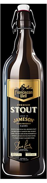 A cerveja produzida pela Franciscan Well