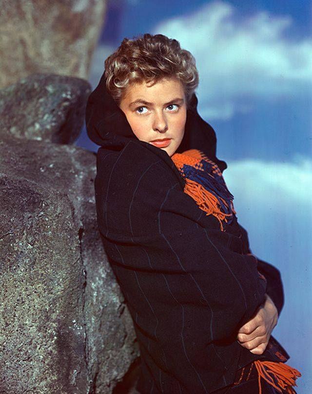 E ela ainda é a cara da Ingrid Bergman!