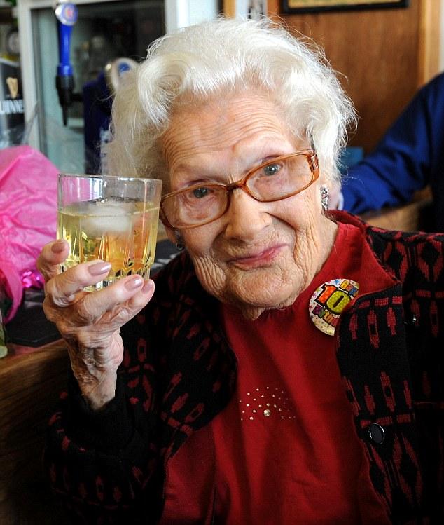 O whisky era tão melhor quando eu era mais jovem!